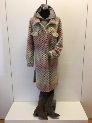 New Collection italy Manteau oversized multicolore