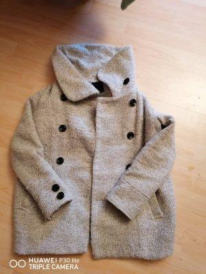 Zara Basic Cappotto corto beige