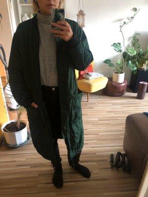 Monki Oversized jas bos Groen Polyester
