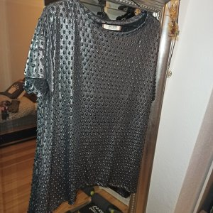 Camicia oversize multicolore Tessuto misto
