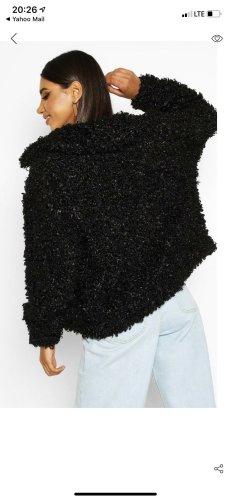 Boohoo Veste oversize noir
