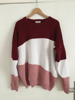 24 colours Knitted Sweater multicolored