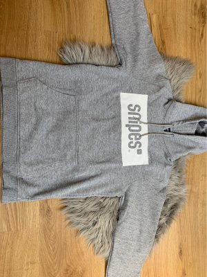 Snipes Hooded Sweater light grey-white