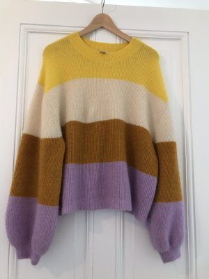 Oversized Pullover Colour Block