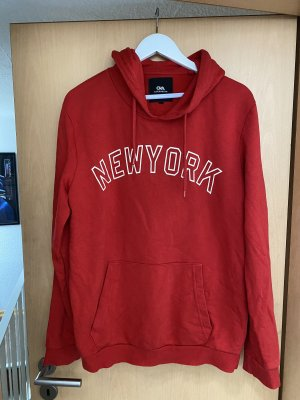 Clockhouse Hooded Sweater white-red