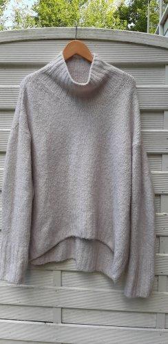 H&M Oversized trui wolwit-licht beige