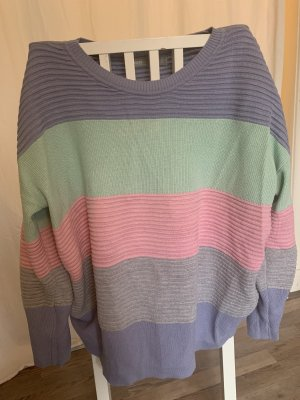 Oversized Pullover in Candyfarben
