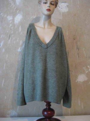 H&M Oversized Sweater sage green