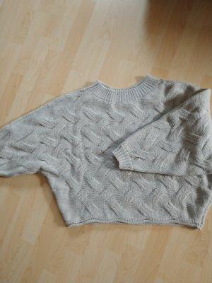 Hailys Maglione oversize grigio chiaro