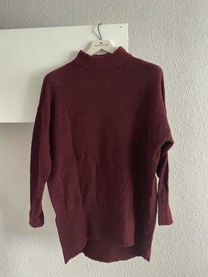 Oversized Pullover mit Rollkragen