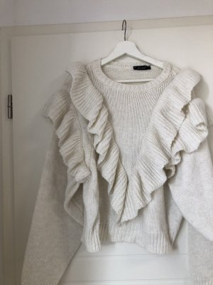 Oversized Sweater natural white-cream