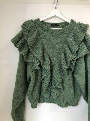 Oversized Sweater khaki-sage green