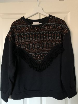 Pull & Bear Oversized Sweater multicolored