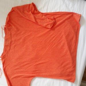 Oversized Pullover orangerot (koralle) Gr. 36 Tom Tailor