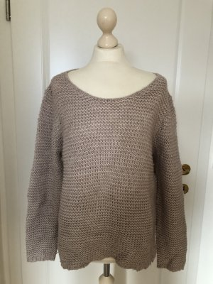 Oversized Pullover sand