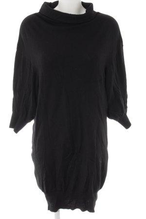 Oversized Pullover schwarz schlichter Stil