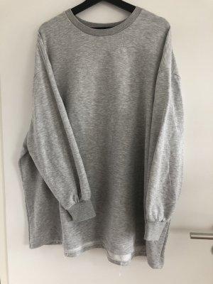 New Look Vestido tipo jersey gris claro