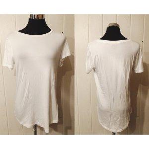 Amisu Camisa holgada blanco-blanco puro