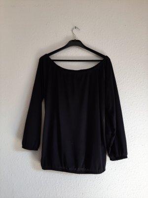 oversized Shirt 38 schwarz