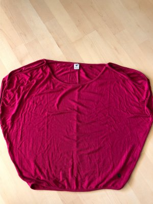 17&co Top extra-large rouge framboise