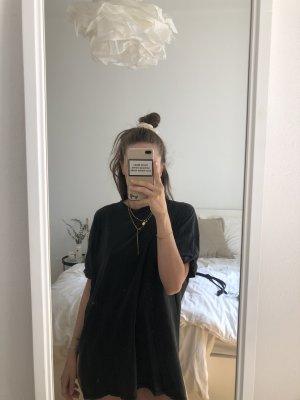Oversized Shirt mit Schnürung im Rückenteil