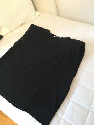 MNG Oversized Shirt black cotton