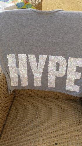 "Oversized Shirt von ""Asos"" Pailettenaufschrift"