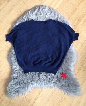 Hollister Top extra-large bleu coton