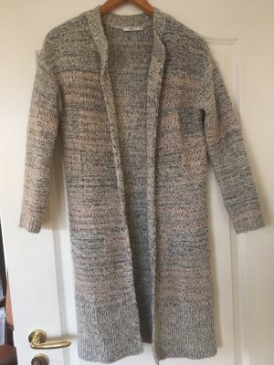 Oversized Strickcardigan meliert