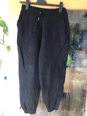 Zara Women Pantalón de lana negro