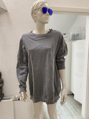 oversized Sweatshirt in grau