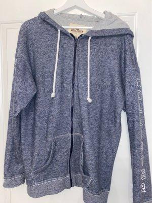 Oversized sweatshirtjacke von hollister