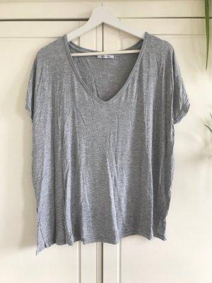 Zara Trafaluc Oversized Shirt grey