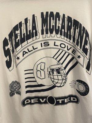 Stella McCartney Camicia oversize bianco-blu scuro