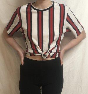 Oversized T-Shirt gestreift zara L