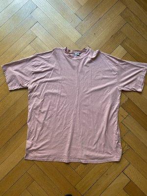 Asos Shirt Dress dusky pink-rose-gold-coloured