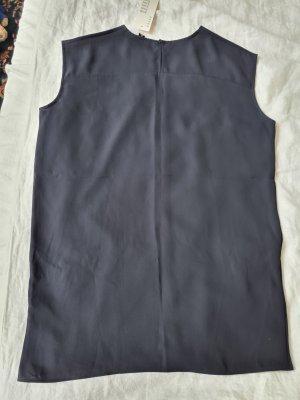 Uniqlo Basic topje donkerblauw