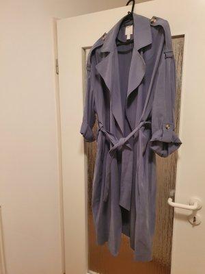 H&M Abrigo ancho gris pizarra