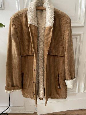 Vintage Manteau d'hiver marron clair