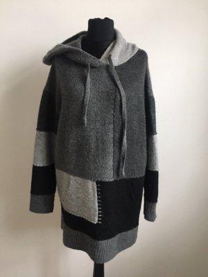 Zara Knit Hooded Sweater multicolored