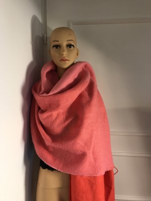 Hennes Collection by H&M Woolen Scarf red-pink