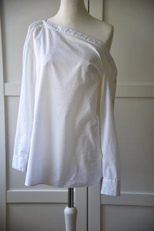 H&M Bluzka oversize biały