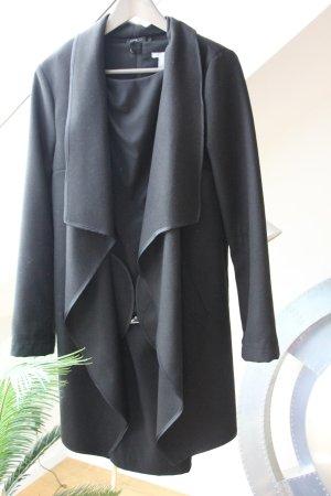 Oversizemantel in Größe L Farbe schwarz