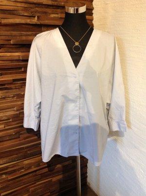 COS Blouse oversized gris clair coton