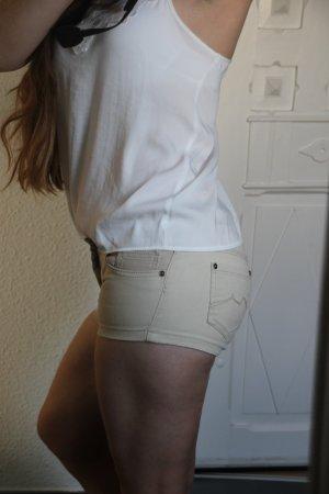 OVS Green Generation Jeans - Short beige sand nude Hot Pants Panty Gr. XXS / XS