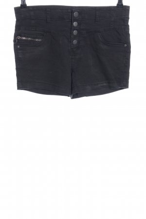 OVS High-Waist-Shorts blau Casual-Look