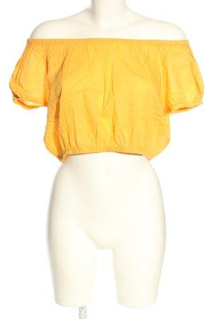 OVS Top spalle scoperte arancione chiaro stile casual