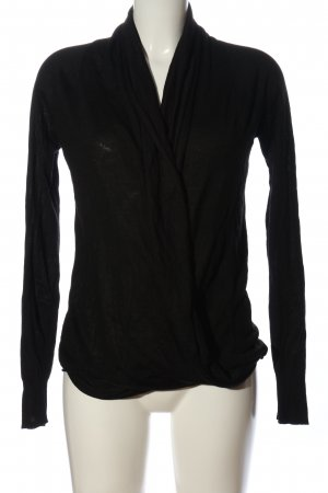 OVS Strick Cardigan schwarz Casual-Look