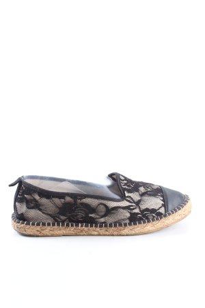 Ovyé Espadrille Sandals black casual look