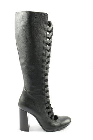 Ovyé High Heel Stiefel schwarz Elegant